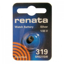Батарейка часовая Renata R319 SR527 SR64