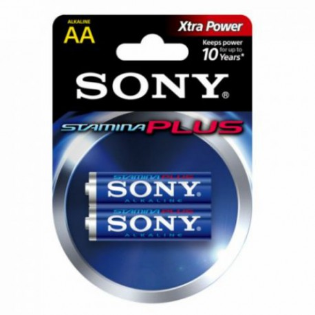 Батарейка Sony LR6-2BL STAMINA PLUS