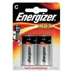 Батарейка Energizer LR14-2BL MAX