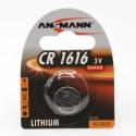Литиевая батарейка  ANSMANN 5020132 CR1616 BL1