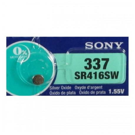 Батарейка SONY SR416SWN 337