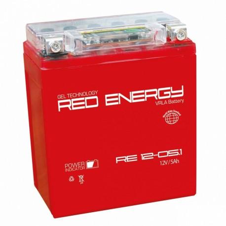 Свинцово-кислотный аккумулятор Red Energy RE 12-05.1 12V 5.1Ah