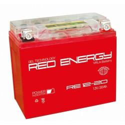 Свинцово-кислотный аккумулятор Red Energy RE 1220 12V 20Ah