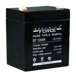Свинцово-кислотный аккумулятор Security Force SF12045 12V 4.5Ah