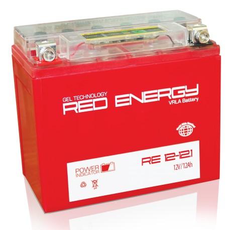 Свинцово-кислотный аккумулятор Red Energy RE 1212 12V 12Ah