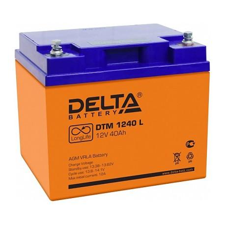 Свинцово-кислотный аккумулятор DTM 1240 L 12V 40Ah