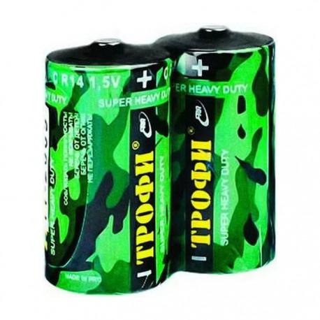 Батарейка Трофи R14-2S Классика