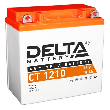 Свинцово-кислотный аккумулятор Delta СT 1210