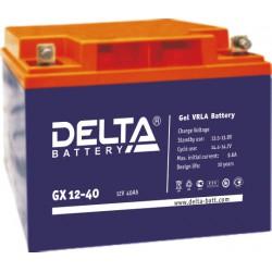 Гелевый аккумулятор Delta GX 1240 12V 40Ah