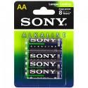 Батарейка Sony LR6 (AA) -4BL Blue