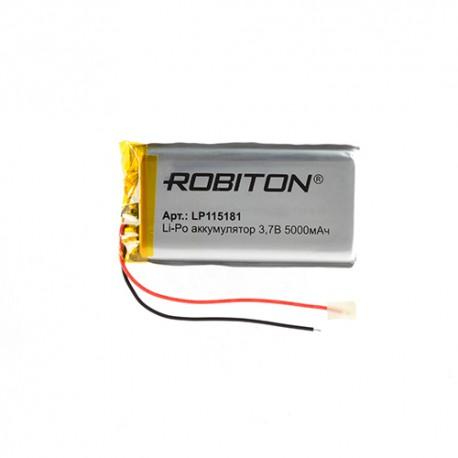 Аккумулятор ROBITON LP115181 3.7В 5000мАч