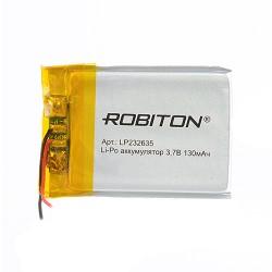 Аккумулятор ROBITON LP232635 3.7В 130mAh