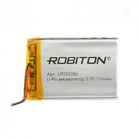 Аккумулятор ROBITON LP233350 3.7В 310мАч