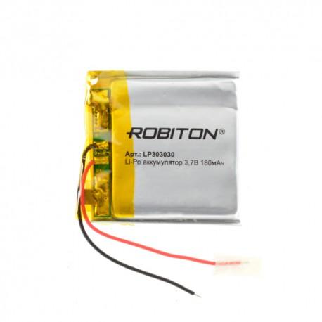 Аккумулятор ROBITON LP303030 3.7В 180мАч