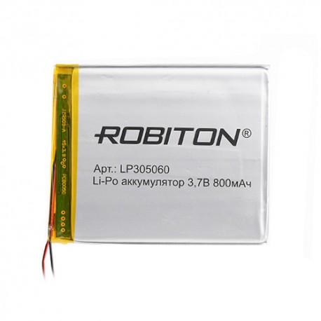 Аккумулятор ROBITON LP305060 3.7В 800mAh