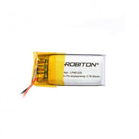 Аккумулятор ROBITON LP401225 3.7В 90мАч