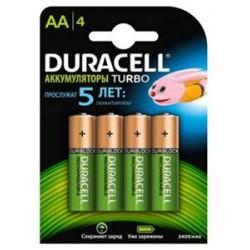 Аккумулятор Duracell 2400mAh R6 (AA) Ni-MH