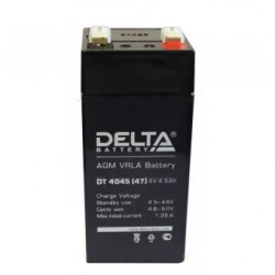 Cвинцово-кислотный аккумулятор Delta DT 4045 (47)