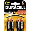 Батарейка Duracell LR6-4BL (AA) MN1500 1.5 V