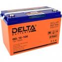Гелевый аккумулятор Delta GEL 12100 12V 100Ah