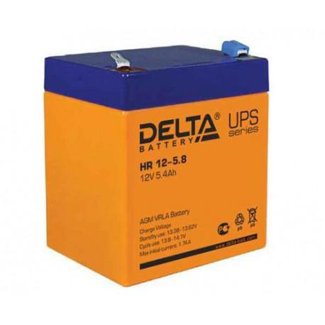 Свинцово-кислотный аккумулятор Delta HR 12 5.8 12V 5.8Ah