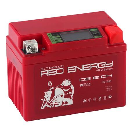 Гелевый мото аккумулятор Red Energy DS 1204 12V 4Ah