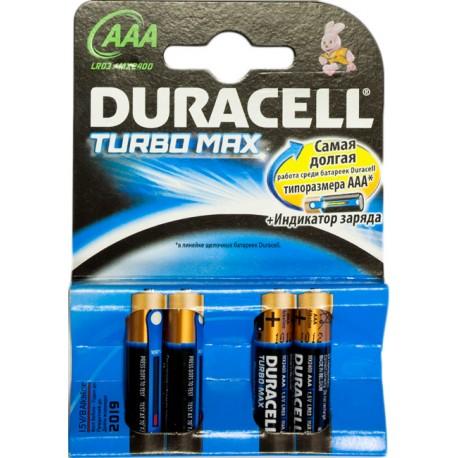 "Батарейка Duracell TURBO MN2400 (LR03) Size""AAA"", 1.5 V"