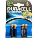 Батарейка Duracell TURBO LR03-4BL (AAA) MN2400 1.5 V