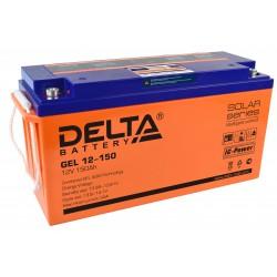 Гелевый аккумулятор Delta GEL 12150 12V 150Ah