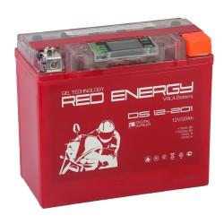 Гелевый мото аккумулятор Red Energy DS 12201 12V 18Ah