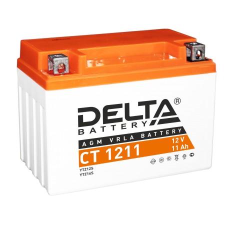 Свинцово-кислотный аккумулятор Delta СT 1211