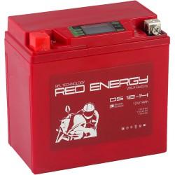 Гелевый мото аккумулятор Red Energy DS 1214 12V 14Ah