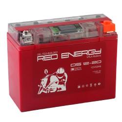 Гелевый мото аккумулятор Red Energy DS 1220 12V 20Ah