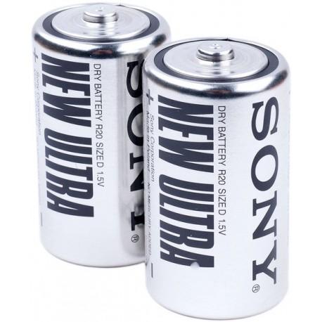 Батарейка Sony R20 (D)  NEW ULTRA
