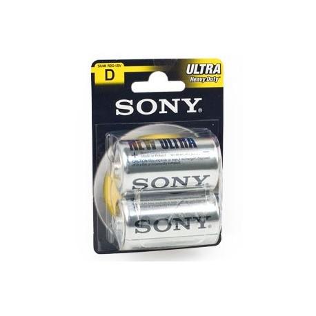Батарейка Sony R20-2BL (D)  NEW ULTRA