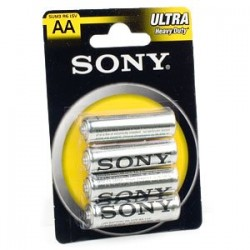 Батарейка Sony R6-4BL (AA)  NEW ULTRA