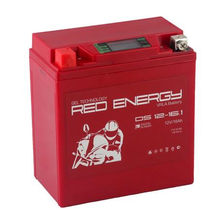 Гелевый мото аккумулятор Red Energy DS 1216.1 12V 16Ah