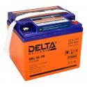 Гелевый аккумулятор Delta GEL 1245 12V 45Ah