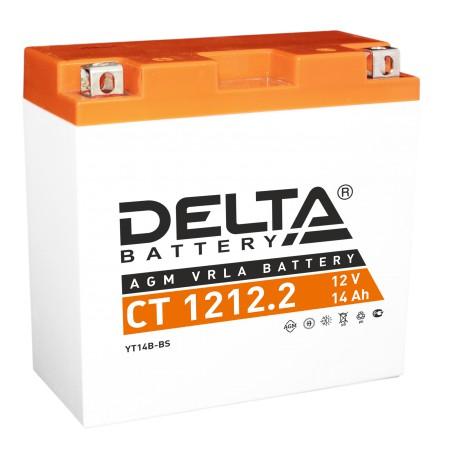 Аккумуляторная батарея стартерная Delta CT 1212.2 12V 14Ah