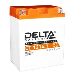 Стартерный свинцово-кислотный аккумулятор Delta CT 1214.1