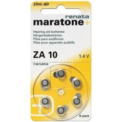 Батарейки для слуховых аппаратов Renata ZA10 1,4V