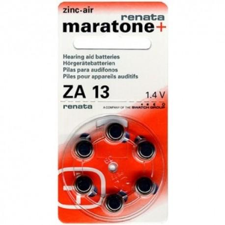 Батарейки для слуховых аппаратов  Renata ZA13 1,4V
