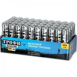 Батарейка Трофи LR03-40