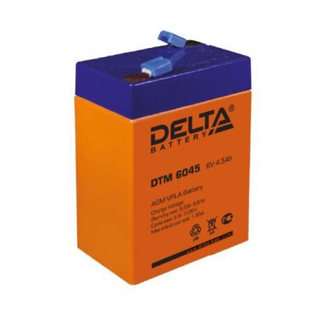 Свинцово-кислотный аккумулятор DELTA DTM 6045 6V-4.5Ah
