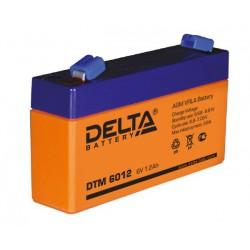 Свинцово-кислотный аккумулятор Delta DTM 6012 6V 1.2Ah
