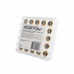 ROBITON PROFI CR2032-HA6.2/20.5 3.0В с выводами под пайку BULK25, в упак 25 шт
