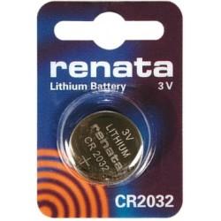 Литиевая дисковая батарейка Renata CR2032 3V