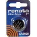 Литиевая дисковая батарейка Renata CR2025
