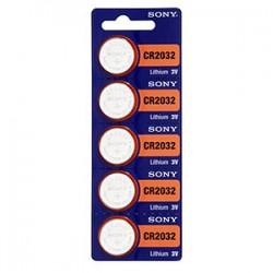Литиевая дисковая батарейка Sony CR2032