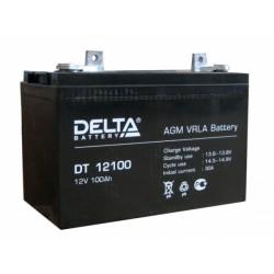 Свинцово-кислотный аккумулятор DELTA DT 12-100 12V 100Ah